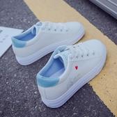 帆布鞋冬季新款小白帆布女鞋學生韓版秋季布鞋百搭原宿板鞋 衣間迷你屋