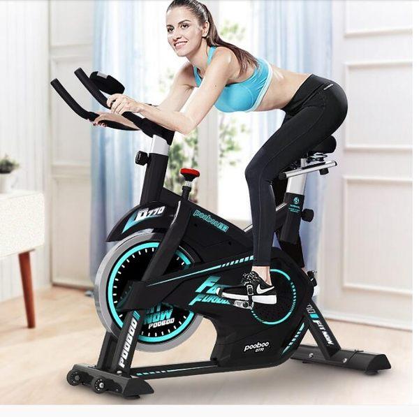 健身車     動感單車 健身車家用靜音室內自行車運動腳踏車健身房器材JD  宜室家居