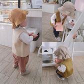 男女童毛線馬甲 韓版春裝童裝嬰童寶寶菠蘿針織無袖開襟坎肩背心【小梨雜貨鋪】