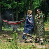 睡袋成人戶外旅行秋季保暖室內露營單人雙人隔臟野營被子 LN1639 【雅居屋】