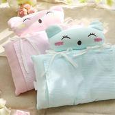 嬰兒枕頭0-1-3歲新生兒枕頭糾正矯正偏頭定型枕棉質春秋夏季【中秋節促銷】