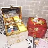 復古首飾音樂盒古典八音盒創意生日禮物送男女生女友閨蜜朋友禮品 科炫數位