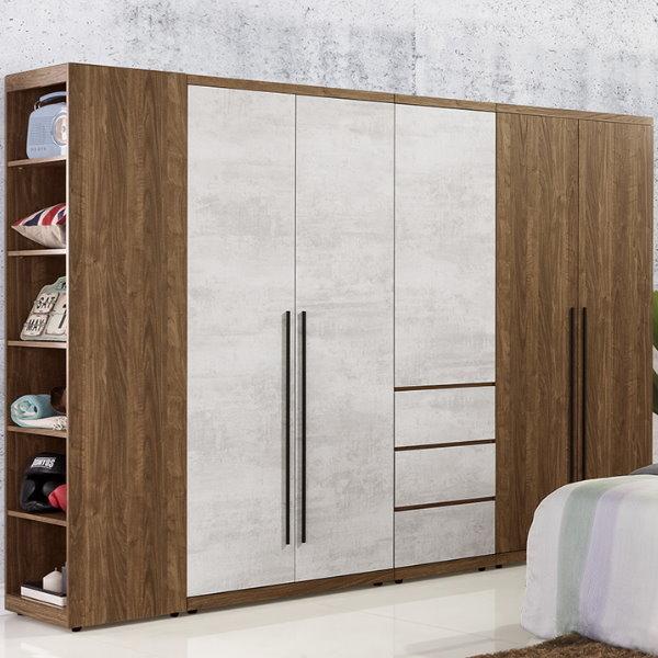 衣櫃 衣櫥 QW-101-2 緹諾7.8尺組合衣櫃【大眾家居舘】