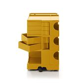 B-Line Boby Mod.M H73.5cm 巴比 多層式系統 收納推車 高尺寸 - 黃綠特殊色系列(蜂蜜黃 - 五抽屜)