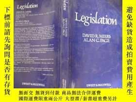 二手書博民逛書店罕見LegislationY11966 DAVID R .MIERS ALAN C.PAGE