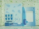【震撼精品百貨】藍海寶寶~信紙組-飄