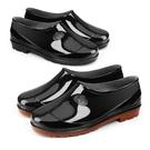 防水雨鞋男鞋防水防滑工作鞋膠鞋男防水勞保低筒雨鞋廚房鞋水鞋女雨靴  快速出貨