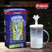 Frabosk意大利進口ABS手動打奶泡器花式咖啡拉花牛奶打泡杯奶泡壺 免運