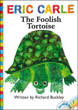 【麥克書店】THE FOOLISH TORTOISE  /英文繪本附CD 《主題: 自我認同》