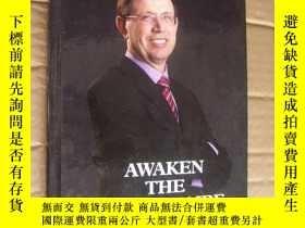 二手書博民逛書店(作者留言籤送本)Awaken罕見the millionaire