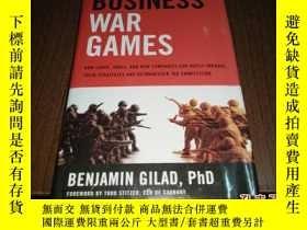 二手書博民逛書店BUSINESS罕見WAR GAMES【外文原版書 看圖】Y164178 BUSINESS WAR GAMES