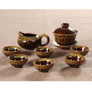 功夫茶具陶瓷整套