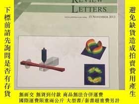 二手書博民逛書店PHYSICAL罕見REVIEW LETTERS( Articles published week ending