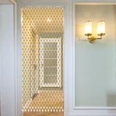 水晶珠簾葫蘆門簾新款廁所衛生間簾