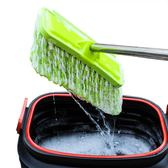 洗車拖把純棉長柄伸縮式多功能專用拖布擦洗車刷車用汽車軟毛刷子 igo 『魔法鞋櫃』
