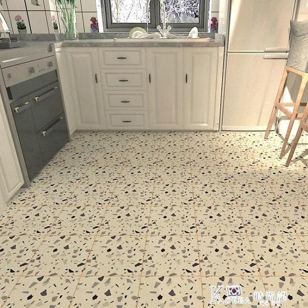 加厚PE自粘地貼衛生間地面防水地板貼浴室防滑廚房瓷磚貼紙
