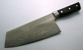 郭常喜與興達刀鋪-龍紋玉桂手工角刀-積層鋼鍛柄(A00102) 可切可剁雞鴨