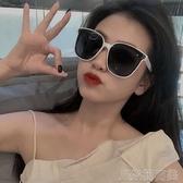 太陽眼鏡復古街拍墨鏡女圓臉韓版潮大框太陽鏡防紫外線男 JRM簡而美