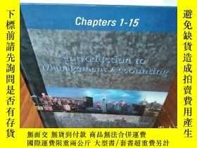 二手書博民逛書店Chapters罕見1-15 lntroduction to M