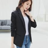 西裝外套 蕾可妮斯小西裝女秋季新款女士休閒優雅西服長袖韓版修身顯瘦 雙12