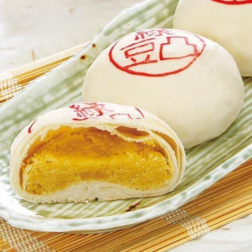 現烤綠豆椪禮盒-蛋奶素(12粒/盒)【愛買】