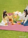 野餐墊春游戶外用品郊游便攜野餐布防水墊子野炊地墊ins風防潮墊 探索先鋒