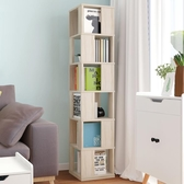 書架書櫃 億家達旋轉書架落地置物架簡易書櫃創意書架多功能客廳儲物櫃 限時8折