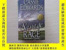 二手書博民逛書店CASSIE罕見EDWARDS Savage Rage【156】