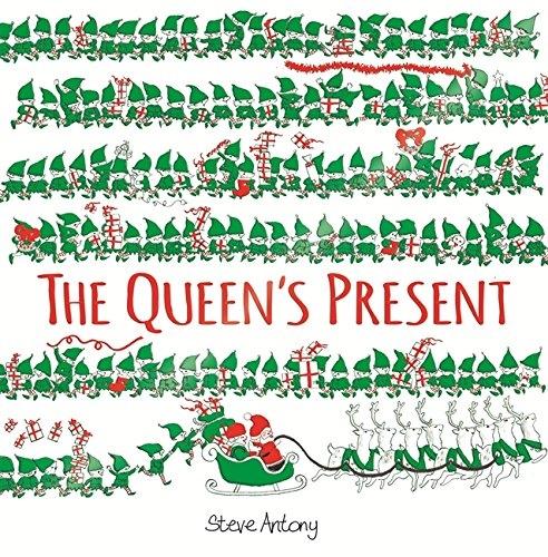 【麥克書店】THE QUEENS PRESENT /英文繪本《主題:聖誕節.各國特色建築》作者:Steve Antony