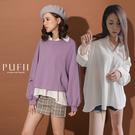 現貨◆ PUFII-上衣 V領襯衫上衣-0815 夏【CP17117】