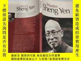 二手書博民逛書店master罕見sheng yen 盛延大師Y200392