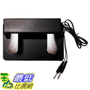 [美國直購] M-Audio SP-Dual 電子琴 鋼琴合成鍵盤-延音踏板 Electronic Keyboard Pedal with Sustain and Soft Functions