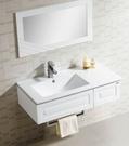 【麗室衛浴】超優質陶瓷面盆組 白色鋼琴烤漆防潮浴櫃組 LS-212安全型鋼烤浴櫃 耐用好清洗