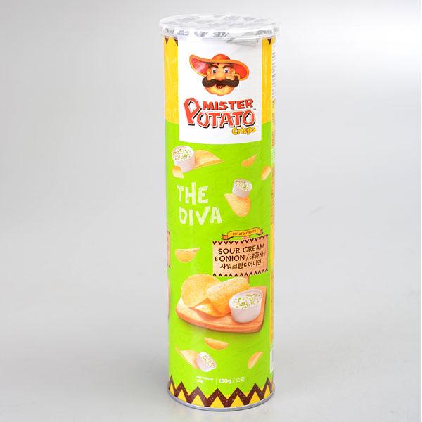【POTATO】薯片先生(洋蔥味) 130g