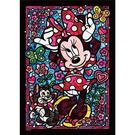 【日本進口拼圖】彩繪玻璃系列 迪士尼 Disney 米妮 (266片) DSG-266-754
