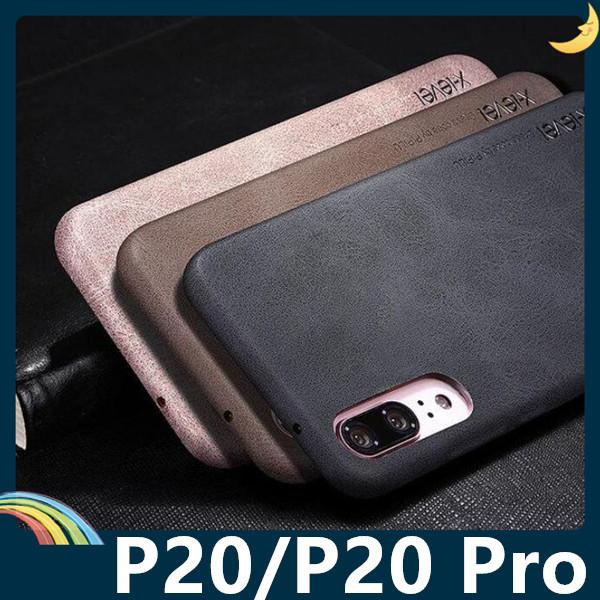 HUAWEI P20/P20 Pro 復古系列保護套 X-level 熱定型磨砂皮紋 輕薄防摔 手機套 手機殼 背殼 外殼 華為
