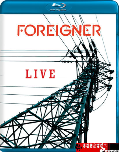 【停看聽音響唱片】【BD】外國人合唱團 FOREIGNER LIVE