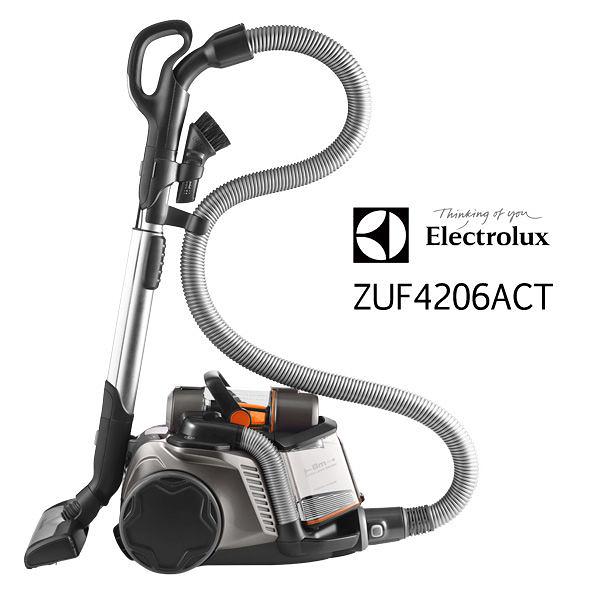 Electrolux伊萊克斯 頂級集塵盒電動除螨吸塵器【ZUA3860旗艦版ZUF4206ACT歐洲原裝】 ZUF4206ACT