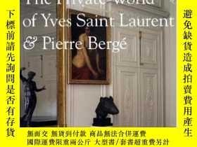二手書博民逛書店The罕見Private World of Yves Saint