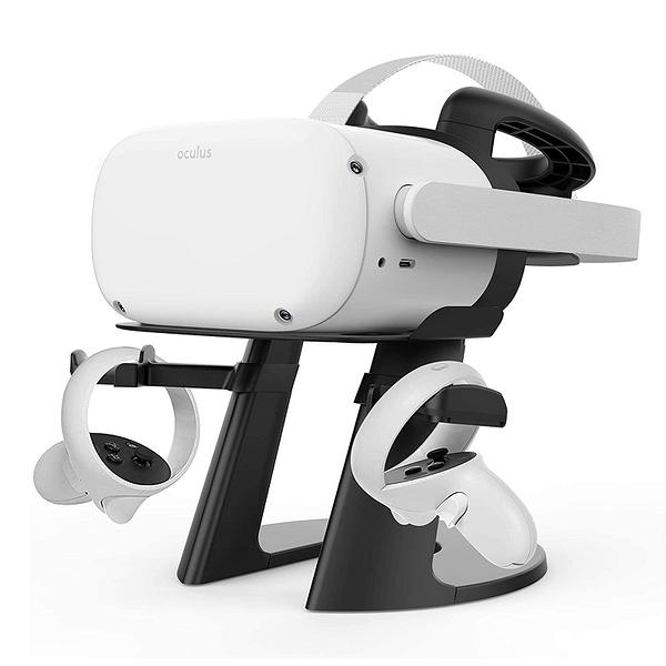 [2美國直購] 適用Oculus VR 支架VR Stand, Compatible with Oculus Quest 2 Stand, VR Headset Stand for Oculus