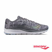 SAUCONY KINVARA 8 HEATHERED/CHROME 專業訓練鞋-麻灰