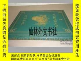 二手書博民逛書店【罕見】1877年出版 JOSEPH WOLF - Wild AnimalsY27248 JOSEPH WOL