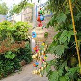 雲南特色天然葫蘆銅鈴鐺風鈴掛飾門飾麗江民族家居陽台掛件工藝品