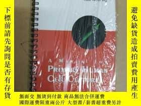 二手書博民逛書店A罕見Manual for Primary Human Cell