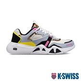 K-SWISS CR-Terrati時尚運動鞋-女-灰/粉紅/豹紋/黑