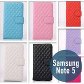 SAMSUNG 三星 Note 5 小羊皮左右開皮套 插卡 側翻 手機套 手機殼 保護套 配件