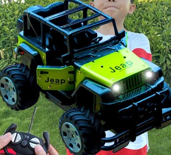 遙控車 遙控車合金遙控汽車玩具無線充電動男孩遙控越野車高速賽車模【快速出貨八折鉅惠】