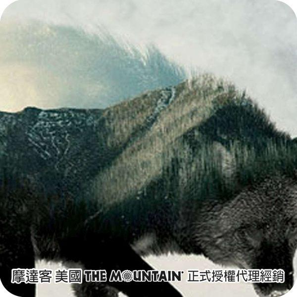 【摩達客】美國進口The Mountain 狼中風景 純棉環保短袖T恤(10416045015)