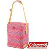 【速捷戶外露營】【美國Coleman】CM-22221 19L紅葉圖騰保冷袋  可搭配冷媒用