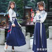 新日常改良漢服 古裝新款秋冬女生學生漢元素古風 BF17909【棉花糖伊人】